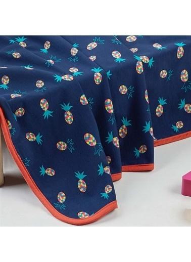 Denizli Concept Pineapple Penye Bebek Battaniyesi 70x95 Renkli